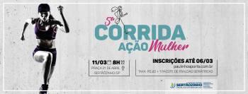 """Inscrições para a 5ª Corrida """"Ação Mulher"""" termina hoje dia 06"""