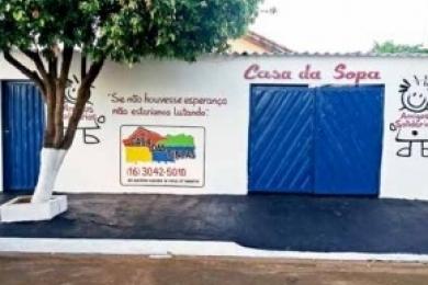 """""""Casa da Sopa"""" quer atender mais gente em  Sertãozinho"""